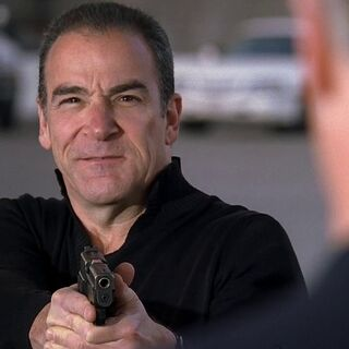 Gideon with the P228 in <a href=