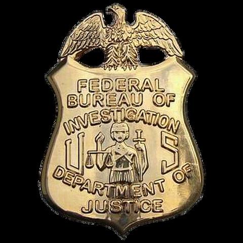 Federal Bureau of Investigation Agent's Badge
