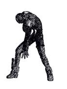 Nightphobia typei sketch portrait