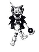Hikari sketch portrait