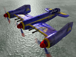 Plane Warhawk