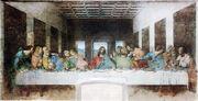 Leonardo da Vinci (1452-1519) - The Last Supper (1495-1498)