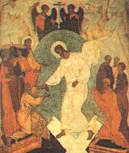 Russian Resurrection icon