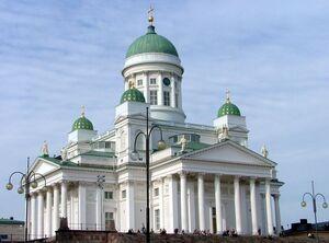 Helsinki Cathedral in July 2004