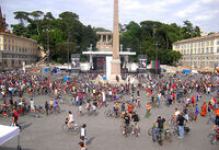 Critical Mass Rome - 26 May 2007