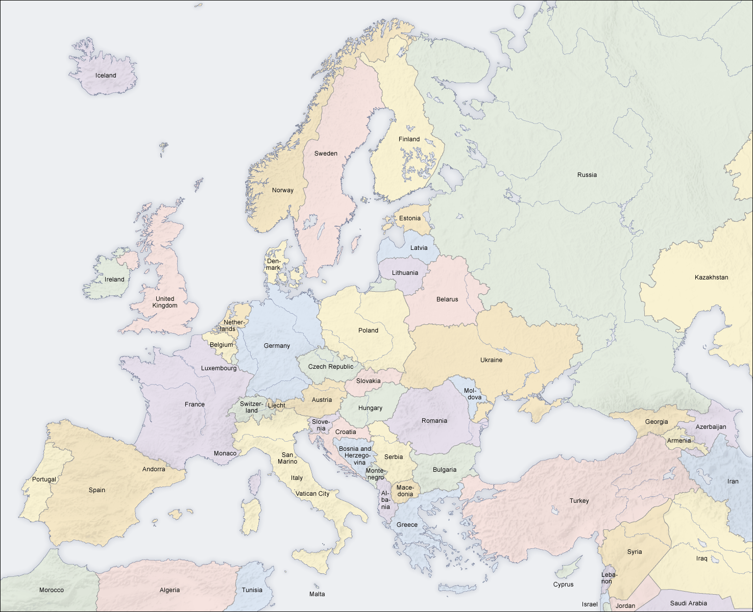 image europe countries map en png critical mass fandom