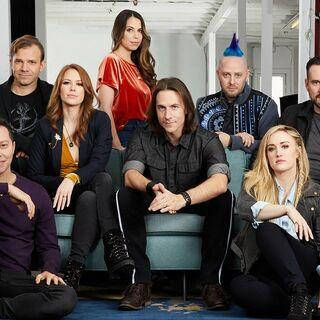 The cast of <i>Critical Role</i> 2019