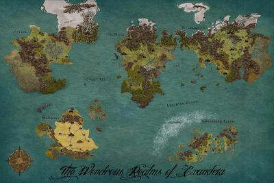 Dnd World Map 5e