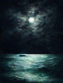 The Ball-Eater at night - Rammaru