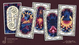 Jester's tarot cards - JustHustina