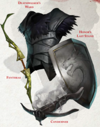 Deathwalker's Ward - Condemner - Fenthras - Honor's Last Stand