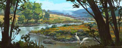 Felderwin from the river - Gina Garavalia