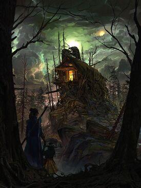 Isharnai's hut - Kent Davis