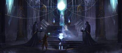 Throne Room of the Bright Queen - @BlackSalander