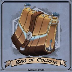 Bag of Colding - Dungeon Scribe