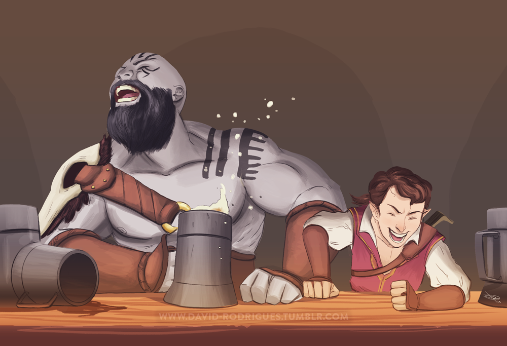 Relationship between Grog and Scanlan | Critical Role Wiki