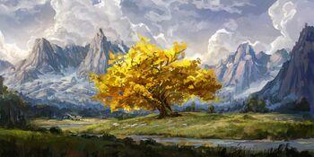 Pre-Whitestone Sun Tree by Kent Davis