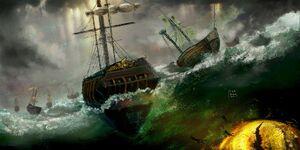 The scion-sea spawn attack - Cyarna