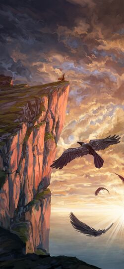 Keyleth's raven - Kent Davis