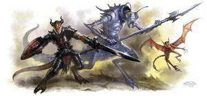 Legion devil-ice devil-imp.
