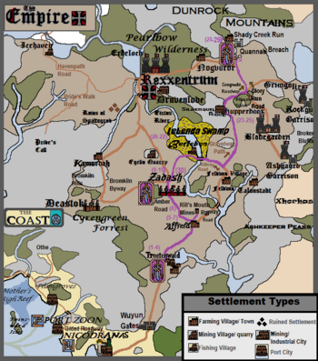 Campaign 2 Tracker Map, Episode 30