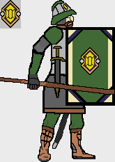 Citrine Regiment Spearman Concept