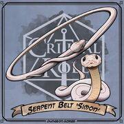 Serpent Belt by Dungeon Scribe