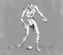 The possessed stone giant - ninesicks