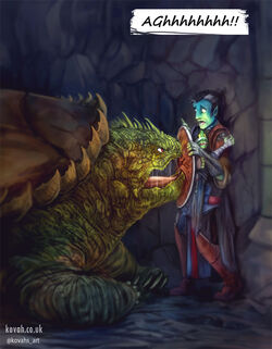 Fjord, Nott, and the turtle - Kovahs Art