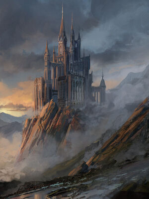 Wildemount Castle by Kent Davis