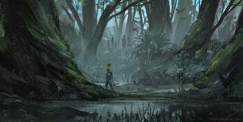Monochromatic forest - Gina Garavalia
