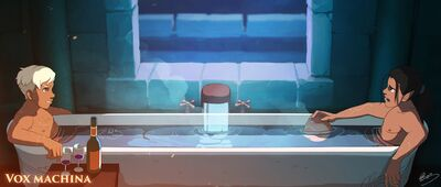 Awkward Bathtime - Lap Pun Cheung