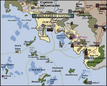 Menagerie Coast, Version 20.3