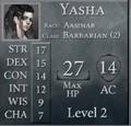 YashaLevel2Stats.png