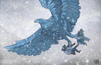 Giant Eagle Transport - Olivia Hintz