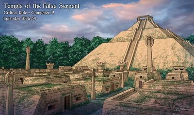 Temple of the False Serpent