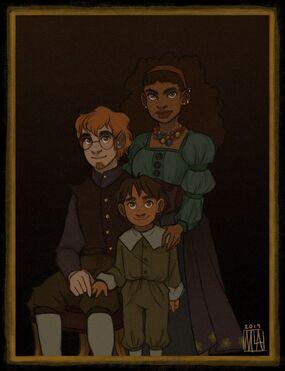 The Brenatto Family - Malény López Alvarez.
