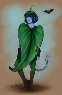 Leaf Jester - @porzio art
