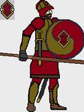 Royal Guard Spearman Concept