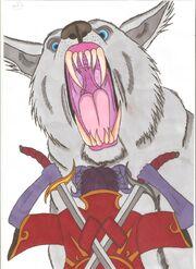 Lyall Callum Molly Winter Wolf