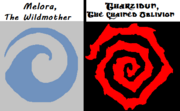 Melora Swirl vs Tharzidun Spiral of Decay