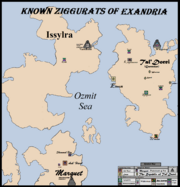 Ziggurat Locations, Version 3