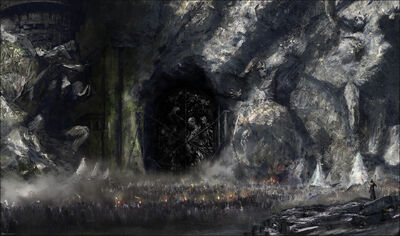 Black Gate of Bazzoxan by Miloš Radojkić