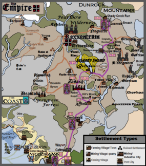 Campaign 2 Tracker Map, Episode 33b