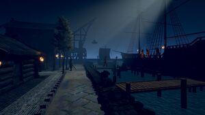 Port of Nicodranas by Austin Burris