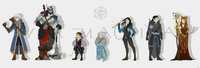 Vox Machina Official Art