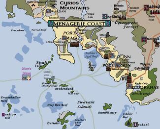 Menagerie Coast, Version 20.1 (dg)