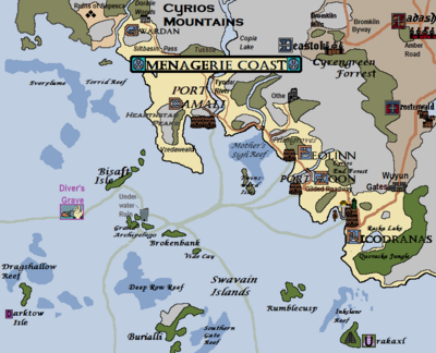 Menagerie Coast, Version 20.1 (dg)