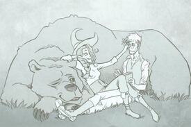 Percy-and-Vex-with-Trinket-by-Hugo-Cardenas