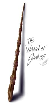 Wand of Smiles by Anna Molla